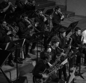 Big Band 2019 maart Jhon Clayton (f Pepa Niebla, The Fog House Photography)